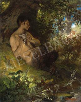 Szinyei Merse Pál - Forrásnál (Faun nimfával), 1868