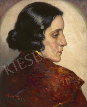 Kássa Gábor - Darvas Lili színésznő (Molnár Ferencné), 1930 | 64. Őszi Aukció aukció / 25 tétel
