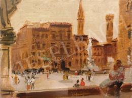 Breznay József - Palazzo Vecchio (Firenze)