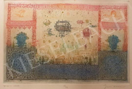 Gross Arnold - Vissza a városba festménye