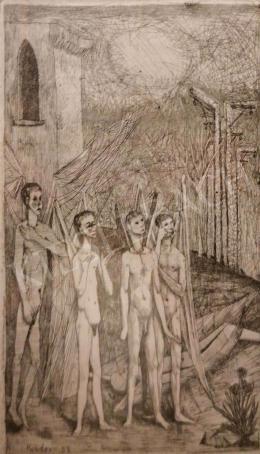 Kondor Béla - Angyalok, 1958