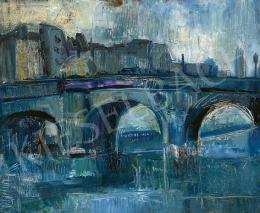 Diener-Dénes Rudolf - Párizsi Szajna-part (Pont Neuf), 1920-as évek