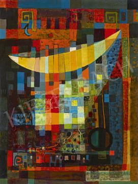 Eladó Gyarmathy Tihamér - Aréna, 1957 festménye