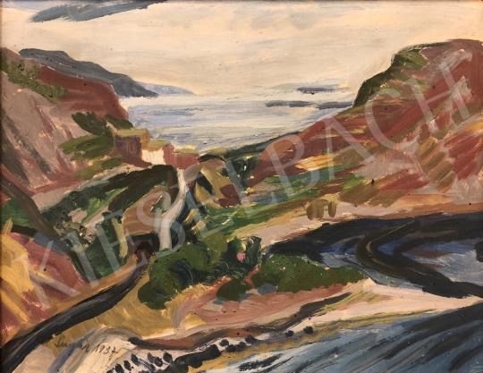 Eladó Sugár Andor - Itáliai táj festménye