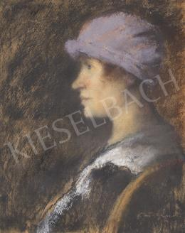 Rippl-Rónai, József - Woman with Hat, 1925