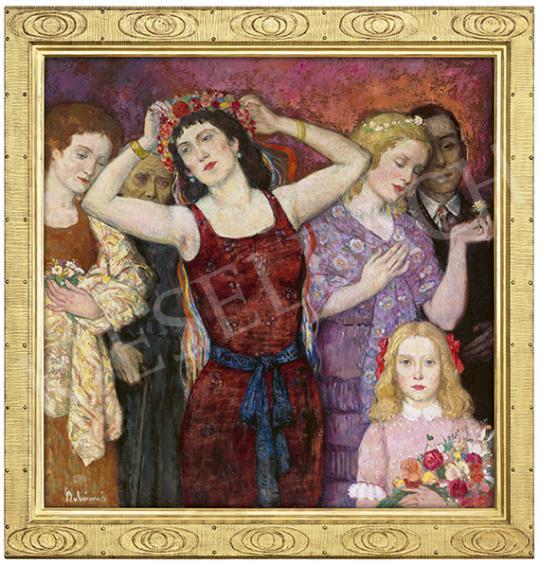 Eladó  Belányi Viktor - A nő aranykora (A nő életútja), 1920 előtt festménye