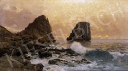 Kárpáthy, Jenő - Sunset on the Beach