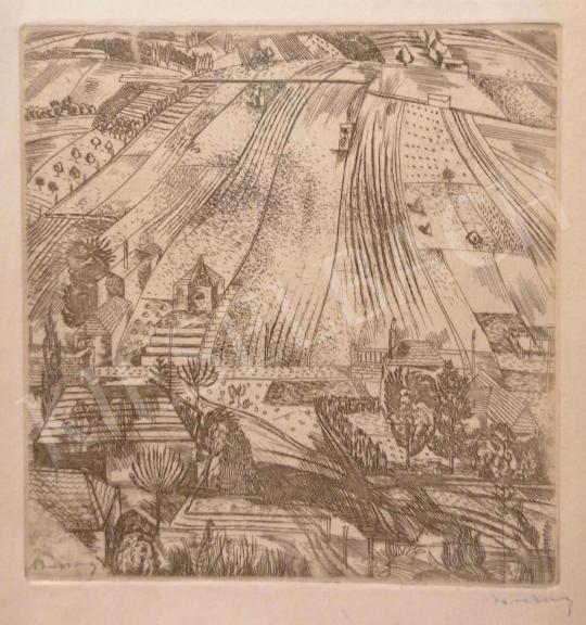 Eladó  Barcsay Jenő - Táj felülnézetből festménye