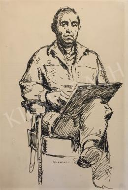 Konecsni, György - Self Portrait
