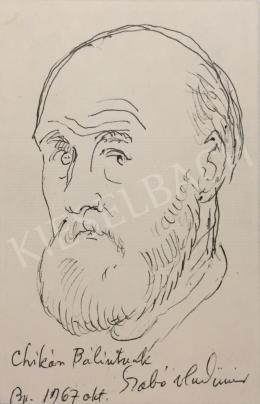 Szabó, Vladimir - Self Portrait, 1967