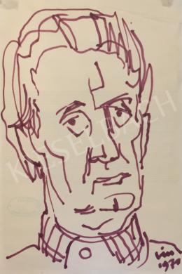 Vén, Emil - Self-Portrait, 1970