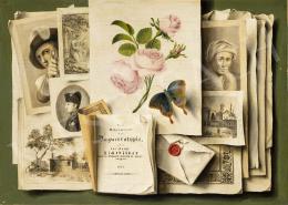Ismeretlen közép-európai festő 1840 körül - A látvány új korszaka (A fotó és a korabeli sokszorosítás)