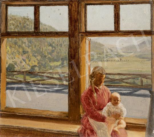 Gundelfinger Gyula - Kilátás a korompai völgyre (A festő gyermeke) festménye