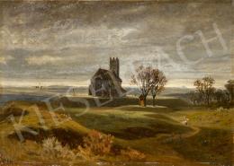 Gundelfinger, Gyula - Autumn Landscape with the Szinye Church