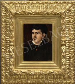 Munkácsy Mihály - Francia nagypolgár portréja (Louis Désiré Benoit), 1881 körül