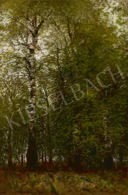 Mednyánszky, László - Spring Poplars