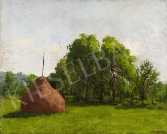 Börtsök Samu - Nagybányai táj   festménye