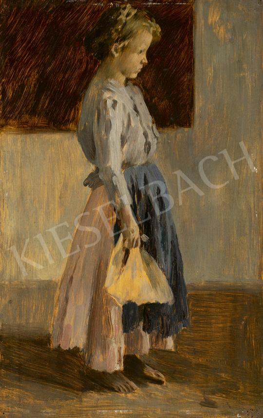 Vaszary János - Megérkezés (Az első nap), 1902 festménye