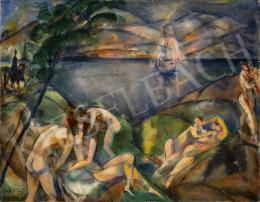 Márffy, Ödön - Nudes by Waterside, c. 1913