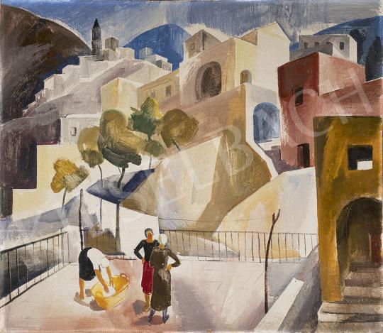 Patkó Károly - Positano, 1930 körül festménye