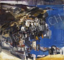 Aba-Novák, Vilmos - Cefalu (Sicilian Seaside), 1930