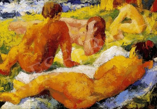Unknown painter - Nudes in the Open-Air | 6th Auction auction / 220 Item