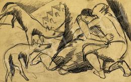 Kádár, Béla - Lovers, the first half of 1920's