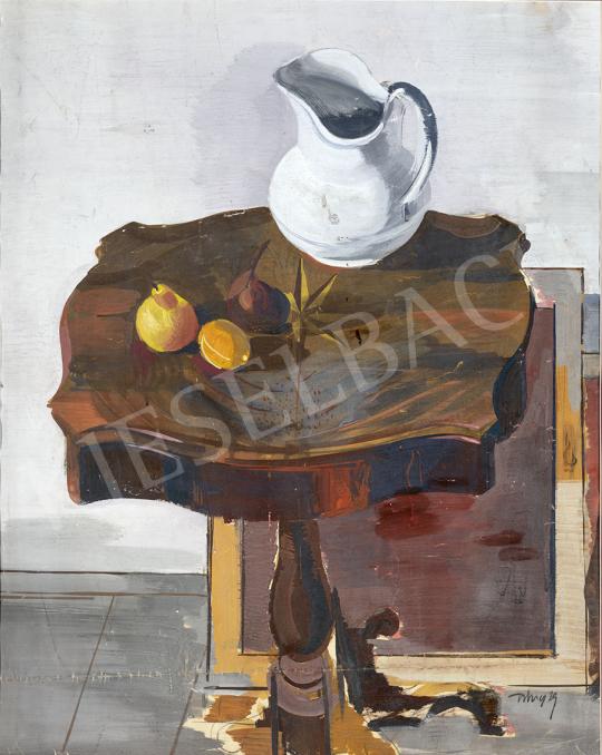 Hincz Gyula - Neoklasszicista csendélet (Műtermi csendélet), 1929 festménye