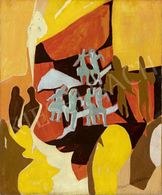 Barta Mária - Art deco revü, 1930-as évek festménye