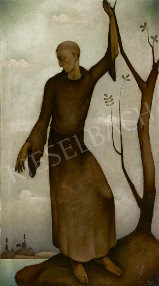 Basilides Sándor - Szent Ferenc, 1928 festménye