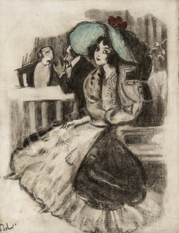 Márk, Lajos - Girl with Green Hat (Hall, Private Boksz)