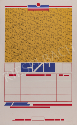 Tót, Endre - Untitled, 1990