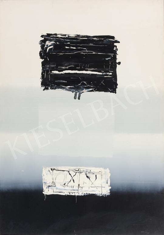 Hencze Tamás - Cím nélkül, 1965 festménye