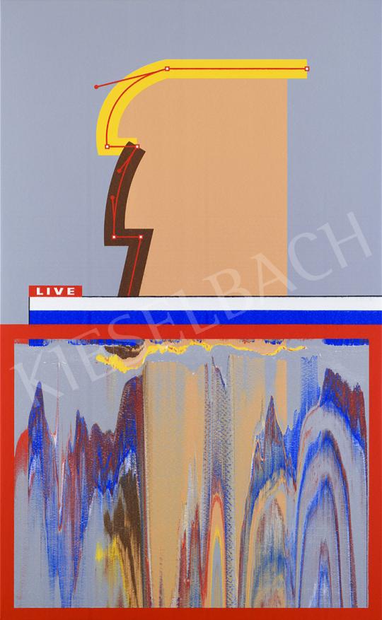 Batykó Róbert - Hocus Potus, 2020 festménye