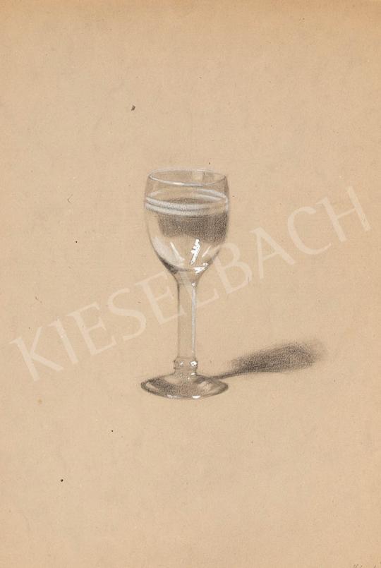 Kássa Gábor - Egy pohár tiszta víz festménye