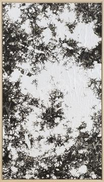 Dobokay Máté - Hommage à Simon Hantai, 2017 festménye