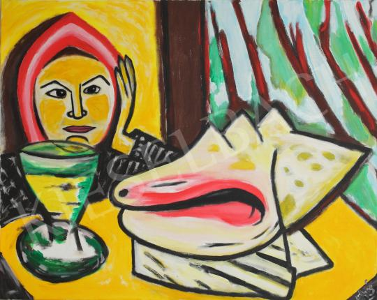 For sale  drMáriás - deSade Marquis in Max Beckmann's Atelier, 2015 's painting