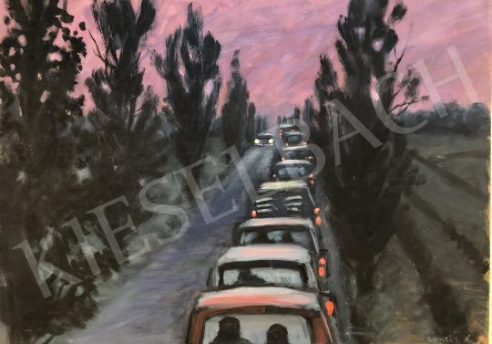 Eladó  Lukács Ágnes - Hazafelé vasárnap este festménye