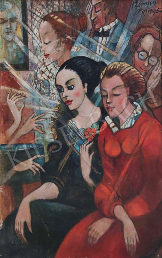 Eladó  Remsey Jenő György - Társaság. 1957 festménye