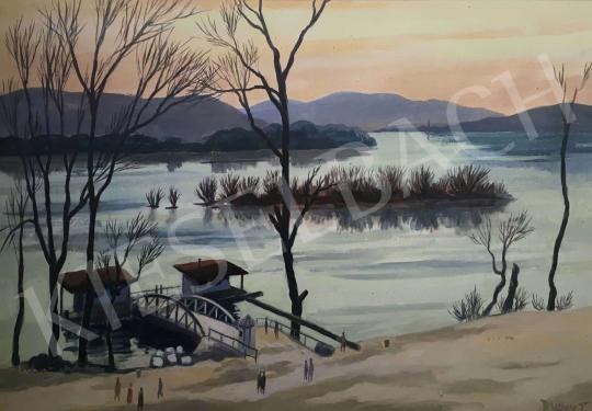 For sale  Duray, Tibor - Danube Bank 's painting