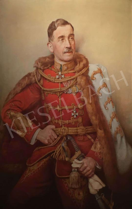 Eladó Basch Árpád - Horváth László altábornagy portréja, 1940 festménye