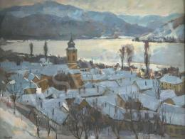 Holba Tivadar - Dunakanyar télen