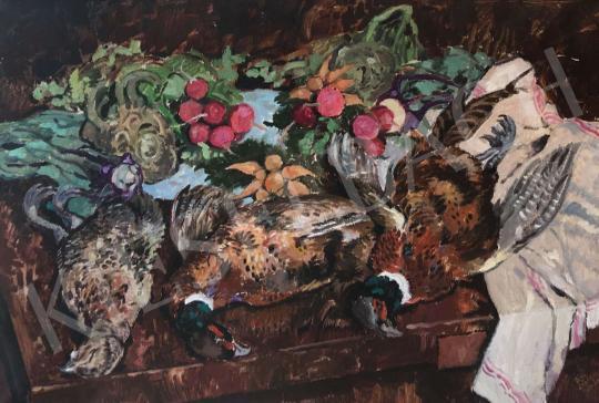 For sale Biai-Föglein, István - Hunting Still Life 's painting