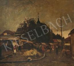 Erdélyi-Gaál Ferenc - Nagybányai utcai jelenet, 1942
