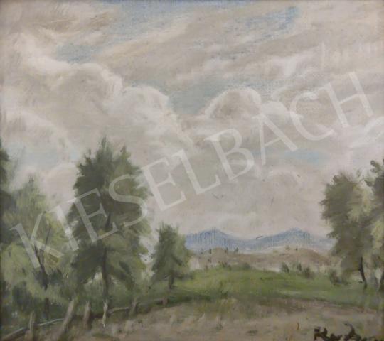 Eladó  Rudnay Gyula - Bábonyi táj festménye