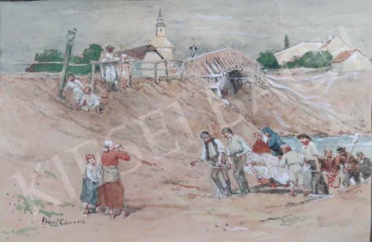Eladó Deák-Ébner Lajos - Folyópart festménye