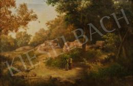 Telepy Károly - Gömörvégi erdő, 1901