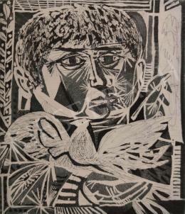 Kass János - Békegalamb, 1974