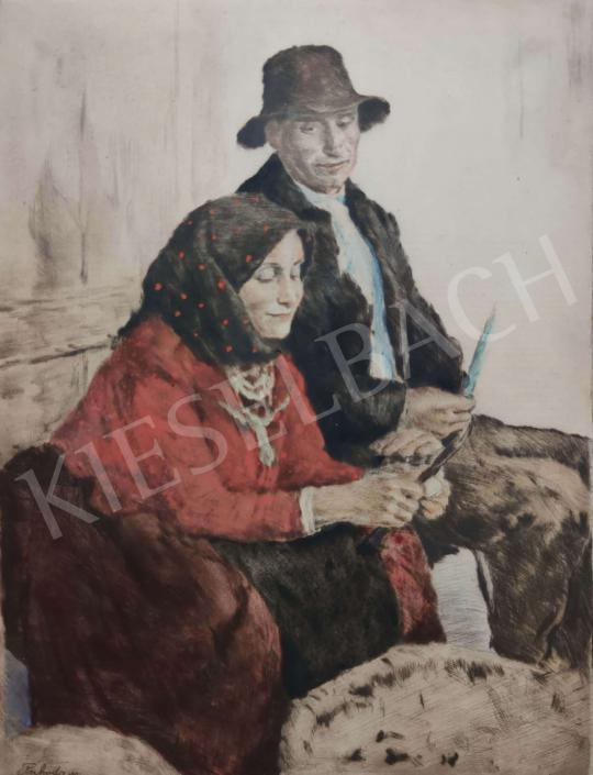Eladó  Glatz Oszkár - Fiatal pár festménye