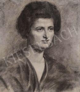 Hencz jelzéssel - Női portré, 1911
